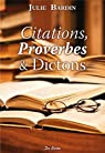 Citations proverbes et dictons par Ripert