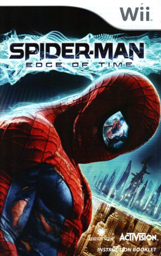 Spider-Man - Edge of Time Wii Instruction Booklet (Nintendo Wii Manual Only) (Nintendo Wii Manual) (Wii Spiderman Edge Of Time compare prices)