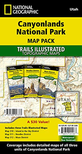Canyonlands National Park [Map Pack Bundle] (National Geographic Trails Illustrated Map)
