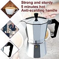 Deasengmint Cafetera de Aluminio Moka Pot Octangle para café ...