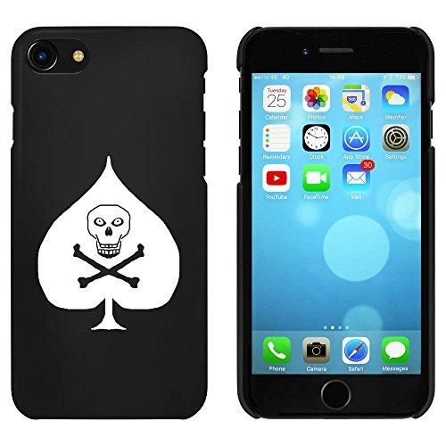 Noir 'Pique Crâne et os Croisés' étui / housse pour iPhone 7 (MC00068841)