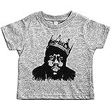 Baffle Biggie Smalls Toddler Tee/Biggie/Notorios Big Toddler Shirt (3T, Grey)