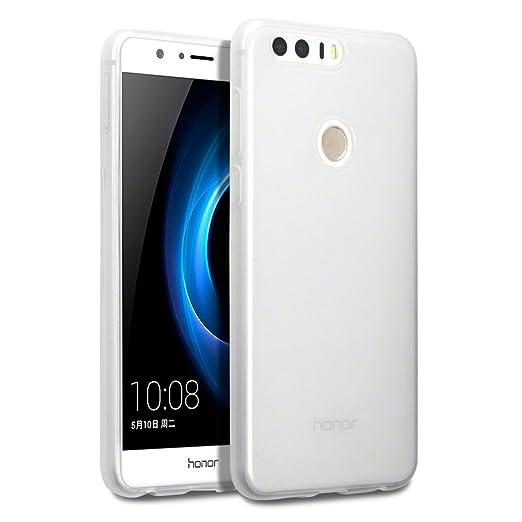 23 opinioni per Terrapin TPU Gel Custodia per Huawei Honor 8 Skin, Colore: Trasparente