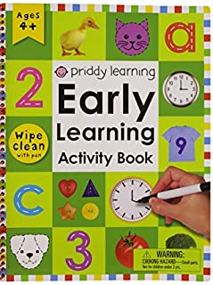 Wipe Clean: Early Learning Activity Book (Wipe Clean Early Learning Activity Books) (0312499221) | Amazon Products