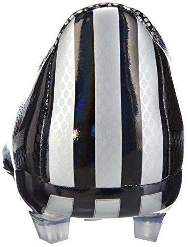 adidas Chaussure de football F30 FG pour Homme, Noir/Argent, 43 1/3