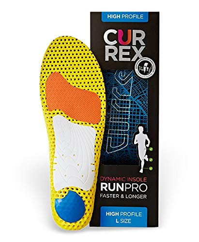 currexSole RunPro Insoles - Europe's Leading Insoles for Running & Walking (Footdisc)