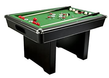 Amazoncom 54 Slate Bumper Pool Table Combination Game Tables