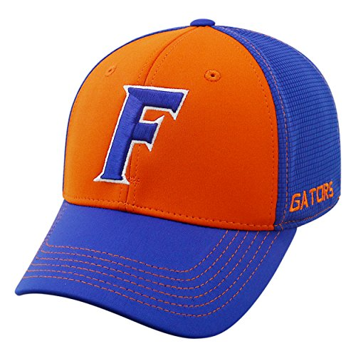 Top of the World NCAA-Dynamic-One-Fit-Memory Fit-Hat Cap-M/L-Florida Gators