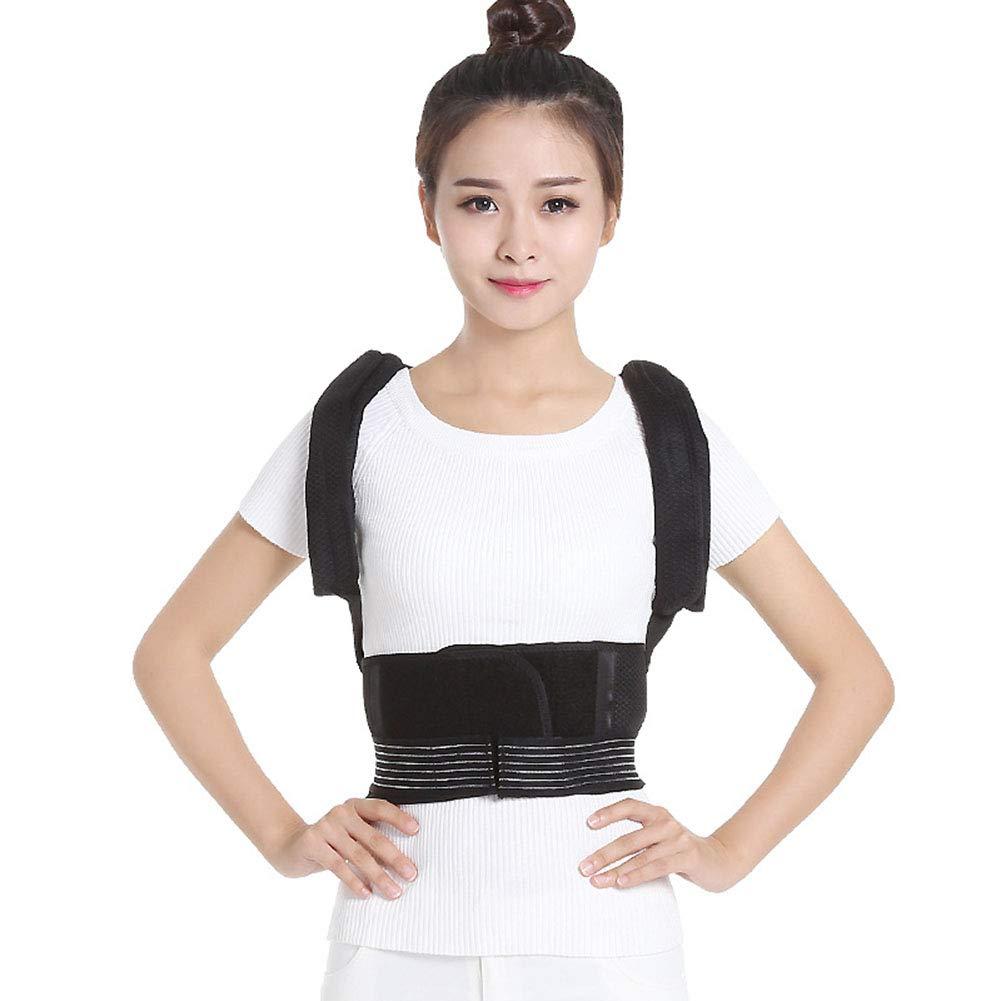 Qwer Back Posture Correction Belt Body Correction Bending Back Back Posture Correction Belt,M