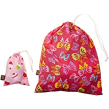 """Kushies """"On The Go"""" Wet Bag with Pacifier Pouch, Girl/Print May Vary"""