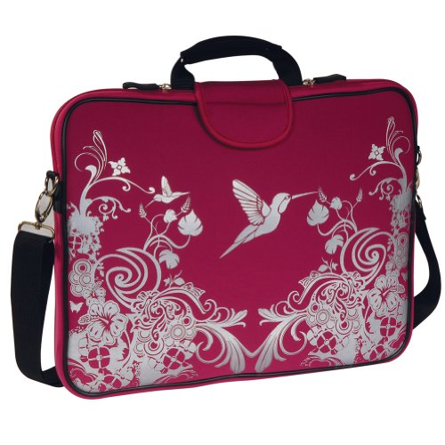 laurex-156-laptop-sleeve-cherry-hummingbird