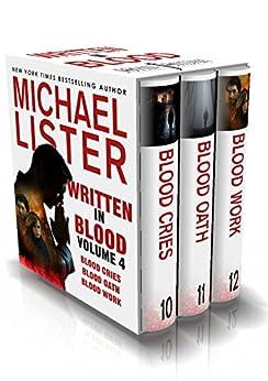 Written in Blood Volume 4: Blood Cries, Blood Oath, Blood Work (John Jordan Mysteries Collections) by [Lister, Michael]