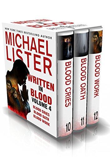 Written in Blood Volume 4: Blood Cries, Blood Oath, Blood Work (John Jordan Mysteries Collections) cover