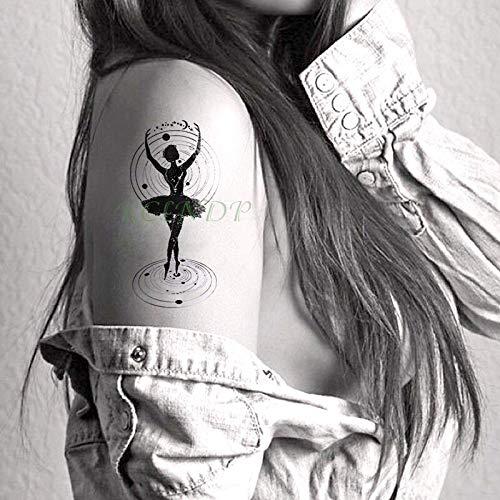Yyoutop Etiqueta engomada del Tatuaje Temporal Impermeable Sol ...