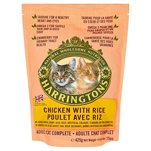 hot sale 2017 Harringtons Cat Complete Chicken & Rice 425g
