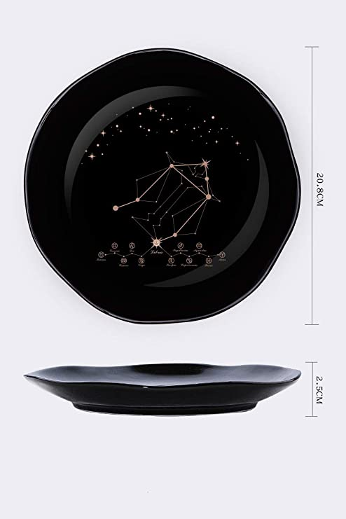 Doce Constelaciones De Placas De Cerámica Placa Occidental Plato ...