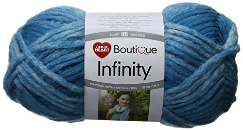 Red Heart Yarn, Infinity (Red Oasis)