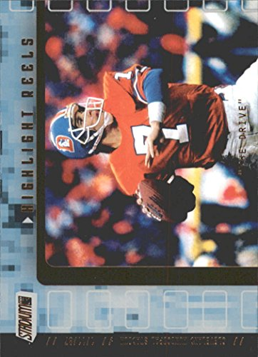 2001 Stadium Club Highlight Reels #HRJE John Elway Card