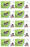 Bounty Paper Napkins, White , 200 Count (10 Packs = 2,000 Napkins)