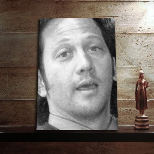 ROB SCHNEIDER - Original Art Print (LARGE A3 - Signed by the Artist) #js001