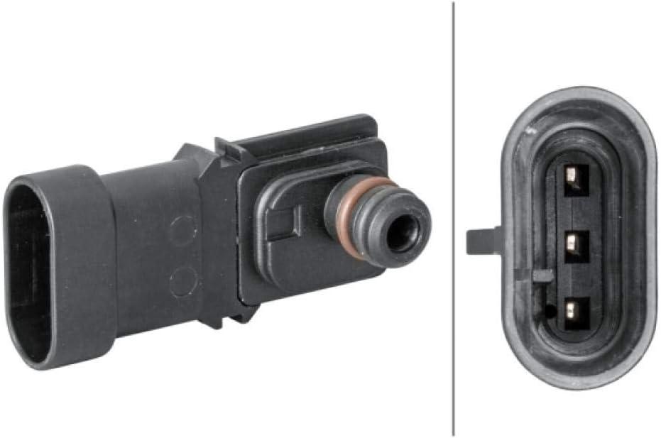 HELLA 6PP 009 400-281 Sensor, presión colector de admisión - con junta - sin cable: Amazon.es: Coche y moto