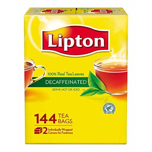 Lipton Tea Bags, Decaffeinated, 144 ct. (Lipton Decaffeinated Tea Bags)