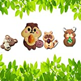 1 Set Direct Selling 2016 New lovely Squirrel Raccoon stainless steel cookies mold Fudge tools Cake biscuit baking mould