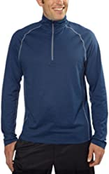88f19eb257 Cloudveil® Men s 1 4 Zip Mock Neck Pullover