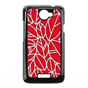 HTC One X Cell Phone Case Black laurens leaves. robinzingone GY9104051