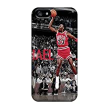 TimeaJoyce Apple Iphone 5/5s Protective Hard Cell-phone Case Allow Personal Design High Resolution Michael Jordan Dunks From The Free Throw Line Pattern [zKf4555SRQv]