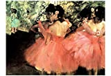 Edgar Degas (The Dancers) Art Poster Print 19 x 13in