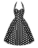 Search : iLover Classy Vintage Audrey Hepburn Style 1950's Rockabilly Swing Evening Dress