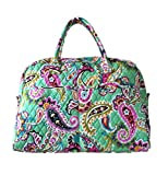 Vera Bradley Weekender Travel Bag with Solid Color Linings (Tutti Frutti with Pink Interior)