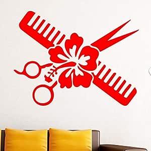GJQFJBS Diseño creativo de corte de flor Chica Etiqueta de ...