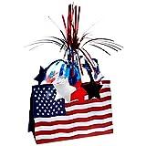 Beistle 50051 American Flag Centerpiece, 13-Inch