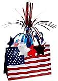 American Flag Centerpiece Party Accessory (1 count) (1/Pkg)