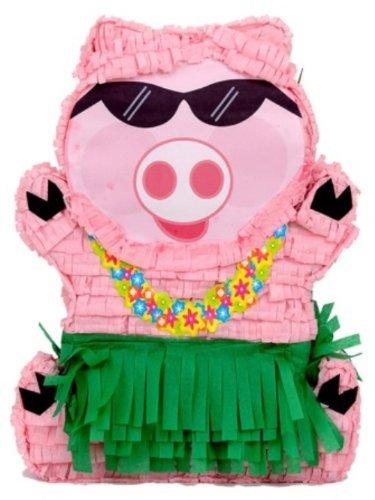 Creative Collection Pinata-Schwein, hawaiisches Design