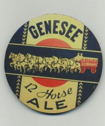 Genesee 12 Horse Ale - Beer Coaster Set (Genesee 12 Horse)
