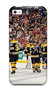 linJUN FENGSnap-on Boston Bruins (24) Case Cover Skin Compatible With iphone 5/5s