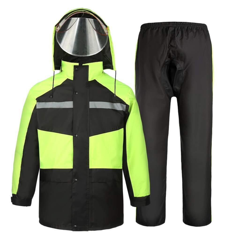 A L YDS SHOP Unisexe Adulte (imperméable et Costume de Pluie), Veste de Montagne légère à Capuche imperméable et Coupe-Vent pouvant être réutilisée (Couleur   A, Taille   M)