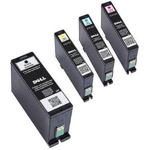 Dell Series 31 Ink Cartridges 1 Black MYVXX, 1 Cyan PYX1V, 1
