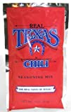 Real Texas Chili Seasoning Spice Mix - 3 Ounce (4 Pack) by Real Texas Chili