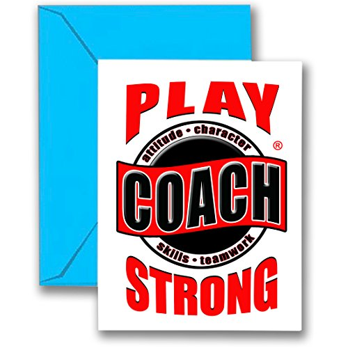 Thanks Coach Football (Play Strong 3-PACK