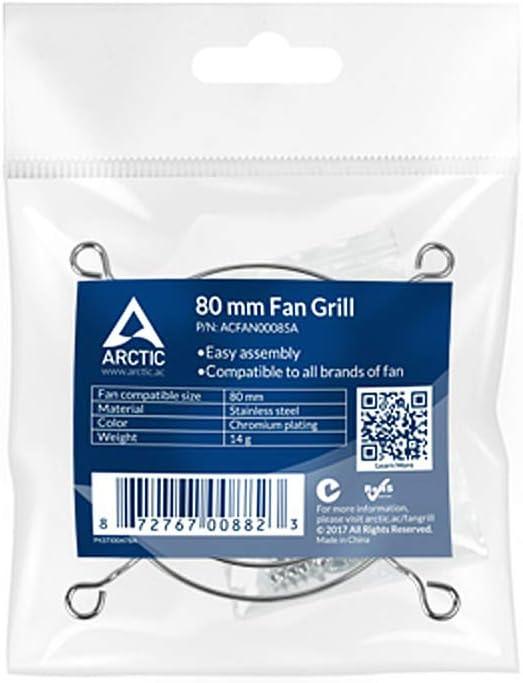 Arctic 80mm Fan Grill Protection for Your Fan Model ACFAN00085A