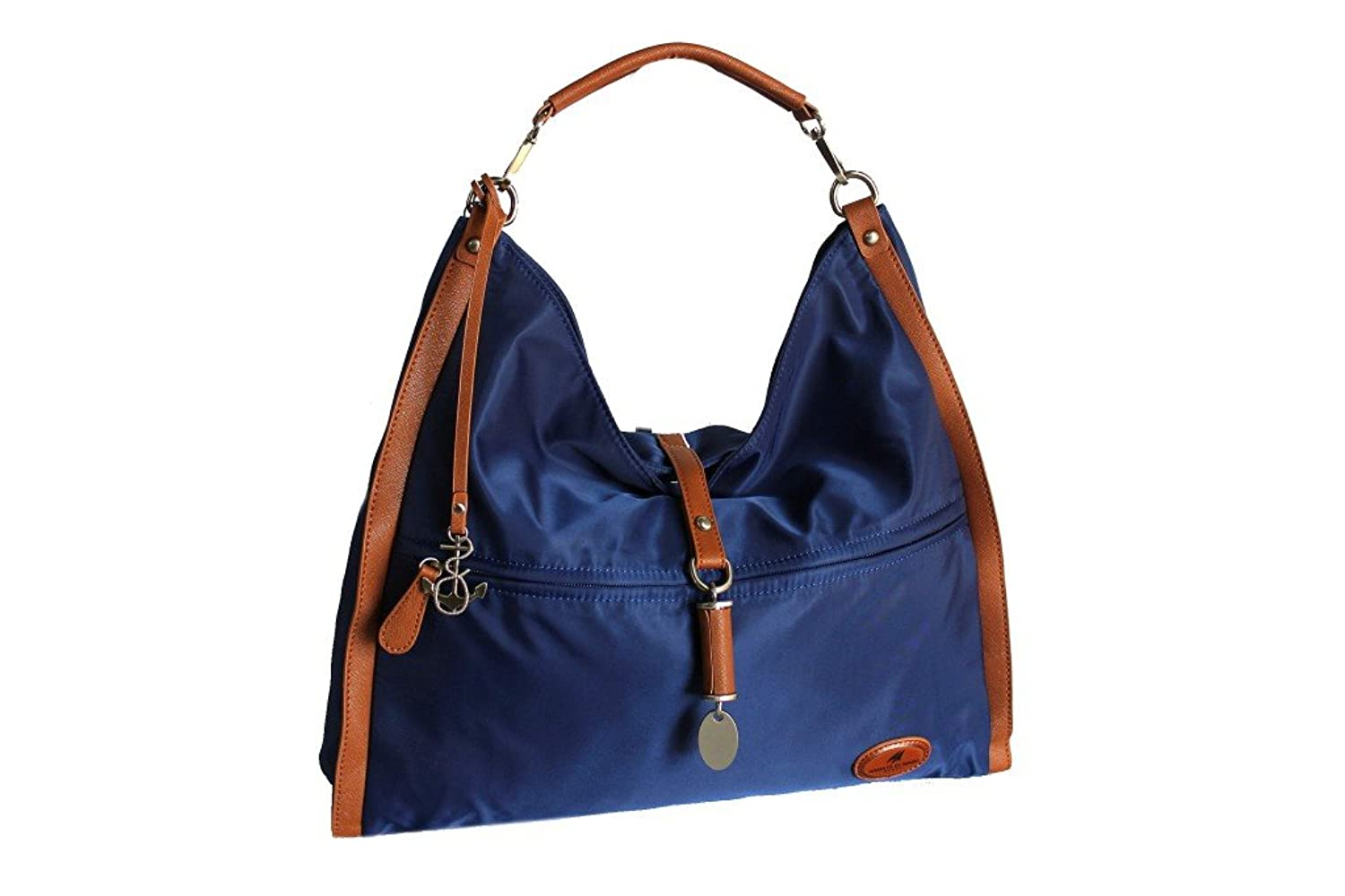 a shoulder bag beach bag woman Army 470 blue