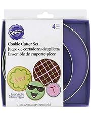 Wilton Nesting Circles Cookie Cutter Set, 4-Piece