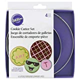 Wilton Nesting Circles Cookie Cutter Set, 4-Piece