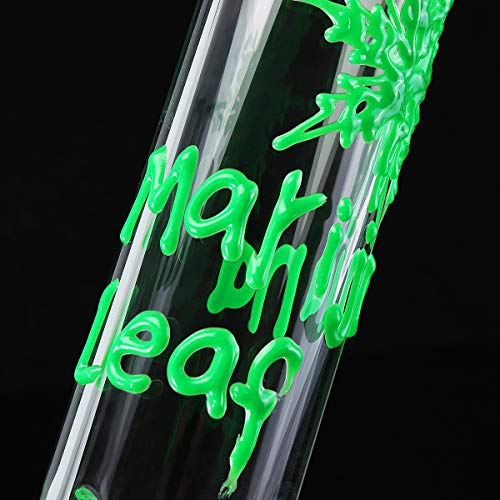 TuToy 3 In 1 Glass Glass Joint Pipes Tool Set Glass Adapter 38Cm Height