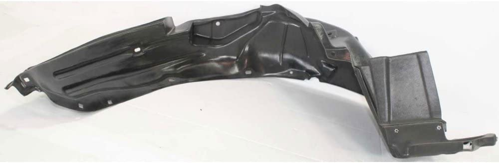 Splash Shield Front Left Side Fender Liner Plastic Hatchback for Honda Fit 07-08 USA Type Auto Trans
