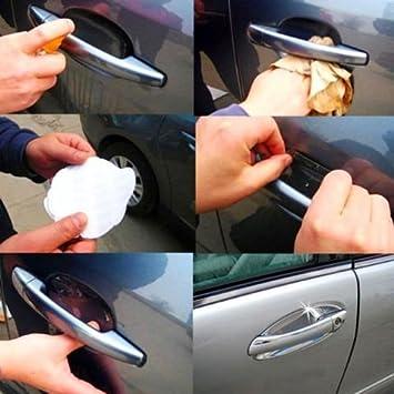 4PCS US Universal Invisible Car Door Handle Scratches Protective Protector Films